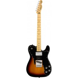 SQUIER VINTAGE MODIFIED TELECASTER CUSTOM MN GUITARRA ELECTRICA 3 COLORES SUNBURST