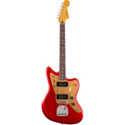 SQUIER DELUXE JAZZMASTER TREMOLO RW GUITARRA ELECTRICA CANDY APPLE RED