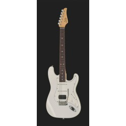 SUHR CLASSIC S HSS RW OW GUITARRA ELECTRICA OLYMPIC WHITE