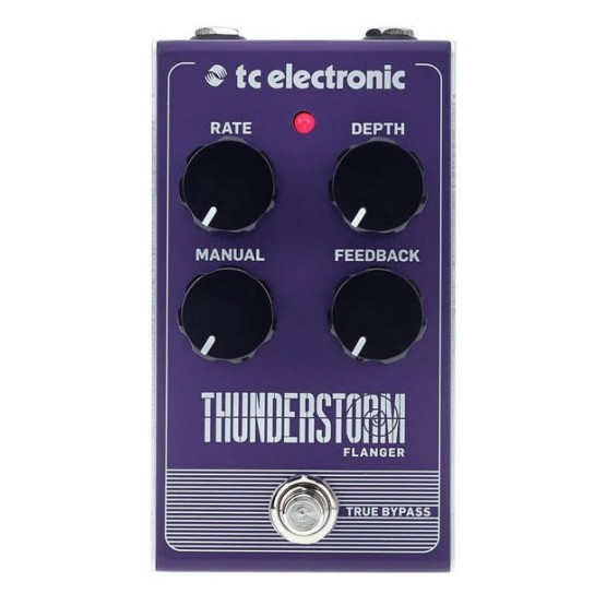 TC ELECTRONIC THUNDERSTORM FLANGER PEDAL.