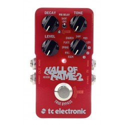 TC ELECTRONIC HALL OF FAME REVERB V2 PEDAL.