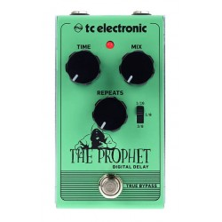 TC ELECTRONIC THE PROPHET DIGITAL DELAY PEDAL.
