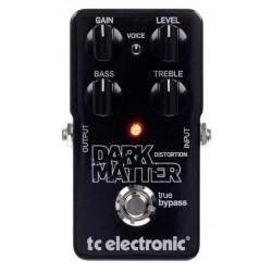 TC ELECTRONIC DARK MATTER DISTORTION PEDAL.
