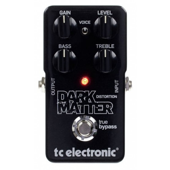 TC ELECTRONIC DARK MATTER DISTORTION PEDAL.