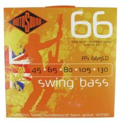 ROTOSOUND RS665 LD SWING BASS JUEGO CUERDAS BAJO 5 CUERDAS 45-130