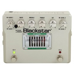 BLACKSTAR HT DUAL DS2 PEDAL PURE VALVE DISTORTION GUITARRA