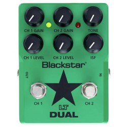 BLACKSTAR LT DUAL PEDAL DISTORSION 2 CANALES GUITARRA