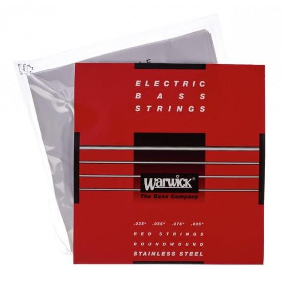 WARWICK 42230 RED JUEGO 4 CUERDAS BAJO 035 095