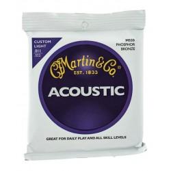 MARTIN M535 JUEGO DE CUERDAS GUITARRA ACUSTICA 11 52 FOSFORO BRONCE