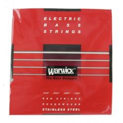 WARWICK 42210 RED JUEGO 4 CUERDAS BAJO 040 100