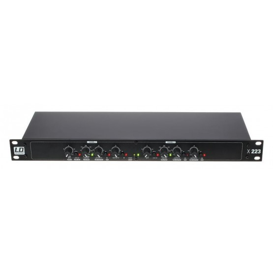 LD SYSTEMS X223 CROSSOVER ACTIVO