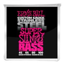 ERNIE BALL 2844 SUPER SLINKY JUEGO CUERDAS BAJO 045-100