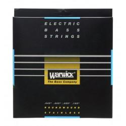 WARWICK 40200 BLACK LABEL JUEGO 4 CUERDAS BAJO 045-105