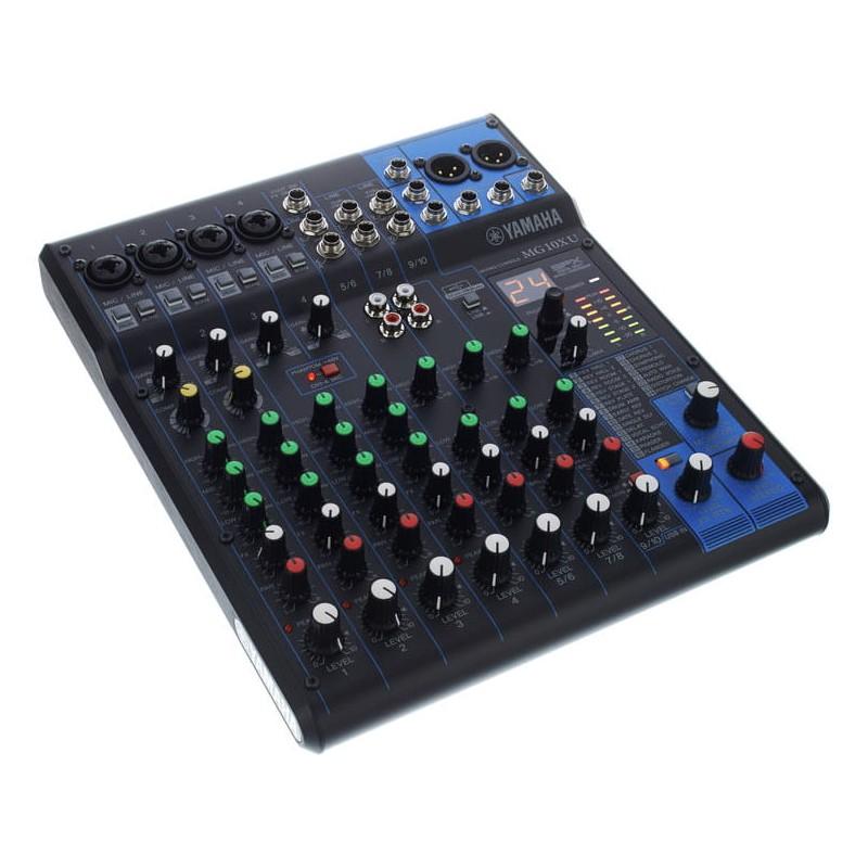 yamaha mg10xu mesa de mezclas analogica de 10 canales con. Black Bedroom Furniture Sets. Home Design Ideas