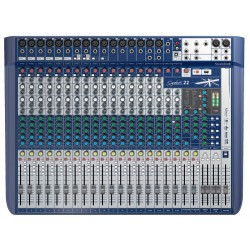 SOUNDCRAFT SIGNATURE 22 MESA DE MEZCLAS