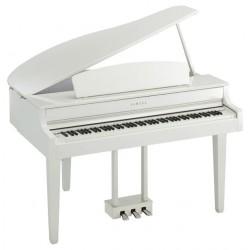YAMAHA CLP665GP PWH PIANO DIGITAL CLAVINOVA BLANCO PULIDO