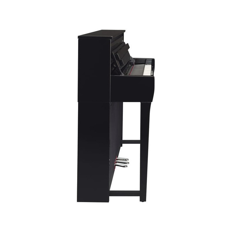 yamaha clp685 pe piano digital clavinova negro pulido. Black Bedroom Furniture Sets. Home Design Ideas