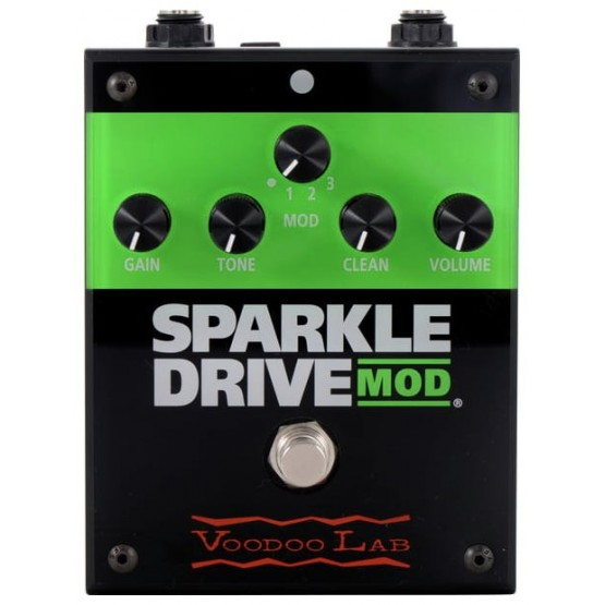 VOODOO LAB SPARKLE DRIVE MOD PEDAL OVERDRIVE