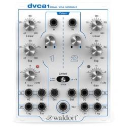 WALDORF DVCA1 KB37 MODULA VCA DUAL EURORACK DEMO.