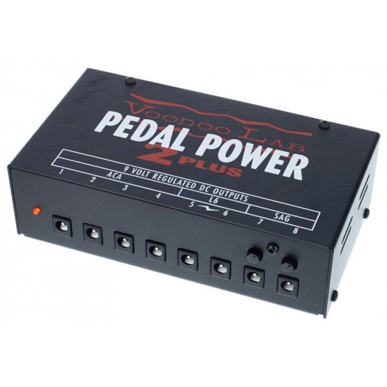 VOODOO LAB PEDAL POWER 2 PLUS ALIMENTADOR PEDALES