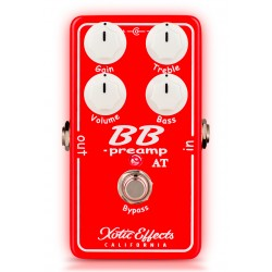 XOTIC BB-PREAMP AT PEDAL OVERDRIVE ANDY TIMMONS
