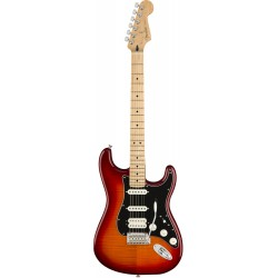 FENDER PLAYER STRATOCASTER HSS PLUS TOP MN GUITARRA ELECTRICA AGED CHERRY BURST. NOVEDAD