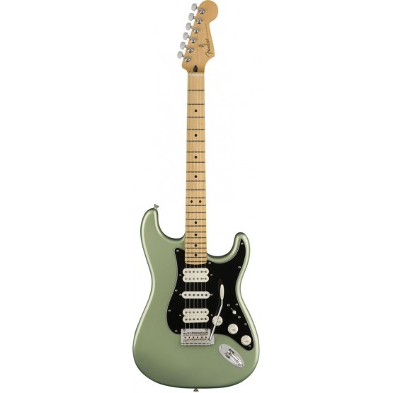 FENDER PLAYER STRATOCASTER HSH MN GUITARRA ELECTRICA SAGE GREEN METALLIC. NOVEDAD