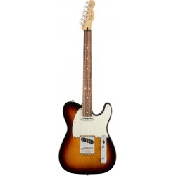 FENDER PLAYER TELECASTER PF GUITARRA ELECTRICA 3 COLORES SUNBURST
