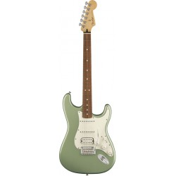 FENDER PLAYER STRATOCASTER HSS PF GUITARRA ELECTRICA SAGE GREEN METALLIC. NOVEDAD