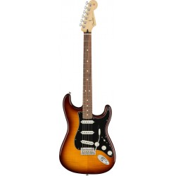 FENDER PLAYER STRATOCASTER PLUS TOP PF GUITARRA ELECTRICA TOBACCO BURST. NOVEDAD
