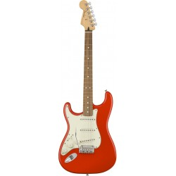 FENDER PLAYER STRATOCASTER LH PF GUITARRA ELECTRICA ZURDOS SONIC RED