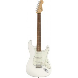 FENDER PLAYER STRATOCASTER PF GUITARRA ELECTRICA POLAR WHITE. NOVEDAD