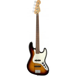 FENDER PLAYER JAZZ BASS FL PF BAJO ELECTRICO FRETLESS 3 COLORES SUNBURST. NOVEDAD