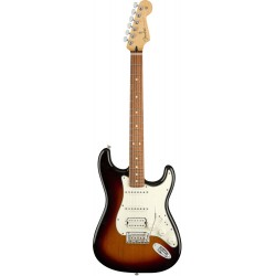 FENDER PLAYER STRATOCASTER HSS PF GUITARRA ELECTRICA 3 COLORES SUNBURST