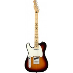 FENDER PLAYER TELECASTER LH MN GUITARRA ELECTRICA ZURDOS 3 COLORES SUNBURST