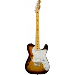 SQUIER VINTAGE MODIFIED 72 TELECASTER THINLINE MN GUITARRA ELECTRICA 3 COLORES SUNBURST