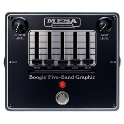 MESA BOOGIE FIVE BAND GRAPHIC EQ PEDAL ECUALIZACION