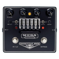 MESA BOOGIE THROTTLE BOX EQ PEDAL DISTORSION