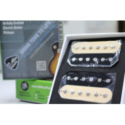 DAVID ALLEN ALLEYCATS SET ZEBRA PASTILLAS HUMBUCKERS