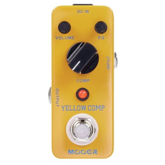 MOOER YELLOW COMP PEDAL COMPRESOR