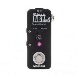 MOOER MICRO ABY MKII PEDAL SELECTOR CANAL