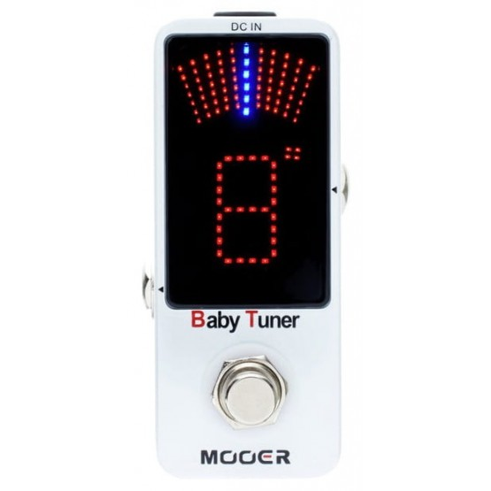 MOOER BABY TUNER PEDAL AFINADOR CROMATICO