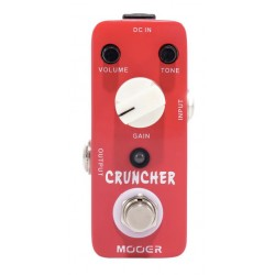 MOOER CRUNCHER PEDAL DISTORSION