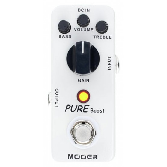 MOOER PURE BOOST PEDAL BOOSTER