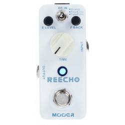 MOOER REECHO PEDAL DELAY DIGITAL