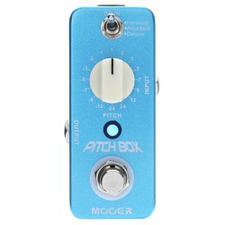 MOOER PITCH BOX PEDAL PITCH SHIFTING