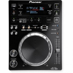 PIONEER CDJ350 REPRODUCTOR CD DJ NEGRO