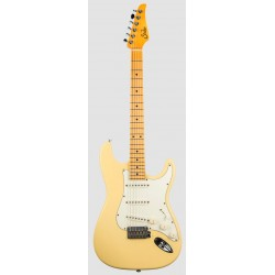 SUHR CLASSIC S ANTIQUE MN VY GUITARRA ELECTRICA VINTAGE YELLOW