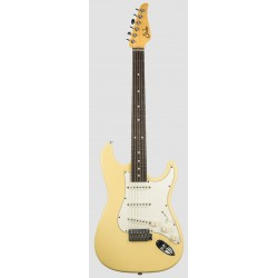 SUHR CLASSIC S ANTIQUE RW VY GUITARRA ELECTRICA VINTAGE YELLOW