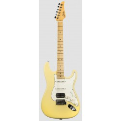 SUHR CLASSIC S HSS MN VY GUITARRA ELECTRICA VINTAGE YELLOW